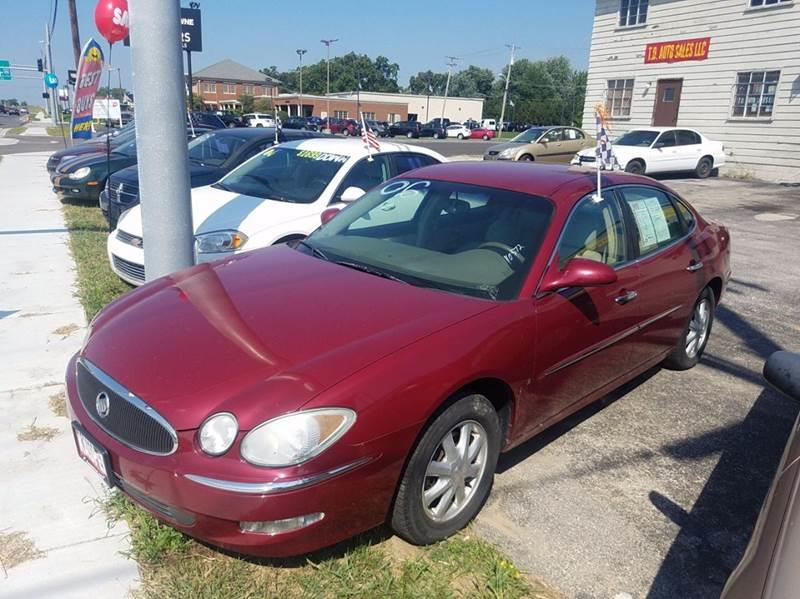 2006 Buick Lacrosse  Miles 127447Color RED Stock 10454 VIN 2G4WD582261186747