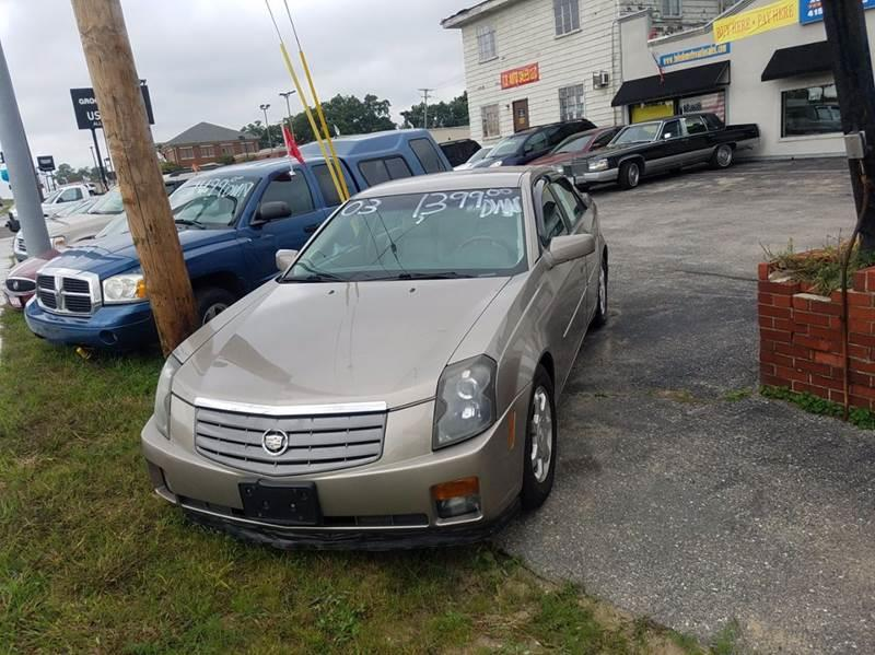 2003 Cadillac Cts  Miles 82425Color GOLD Stock 10453 VIN 1G6DM57N630124950