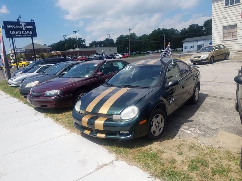 2000 Plymouth Neon  Miles 193433Color GREEN Stock 10447 VIN 1P3ES46C9YD541190
