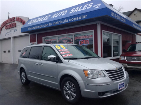 2008 Chrysler Town and Country for sale in Joliet, IL