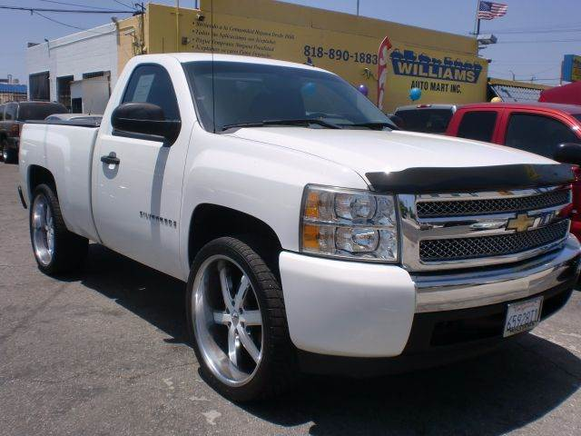 2009 Chevrolet Silverado 1500 4x2 Work Truck 2dr Regular Cab 6.5 ft. SB - Pacoima CA