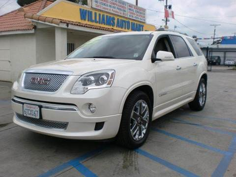2011 GMC Acadia for sale in Pacoima, CA
