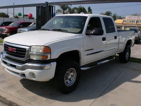 2005 GMC Sierra 2500HD for sale in Pacoima, CA