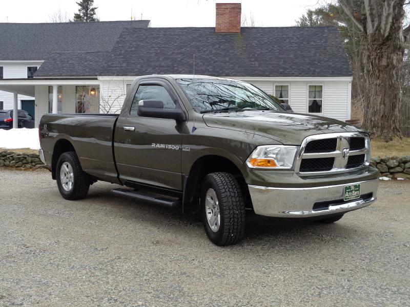 2012 RAM Ram Pickup 1500 4x4 SLT 2dr Regular Cab 8 ft. LB Pickup - Berwick ME