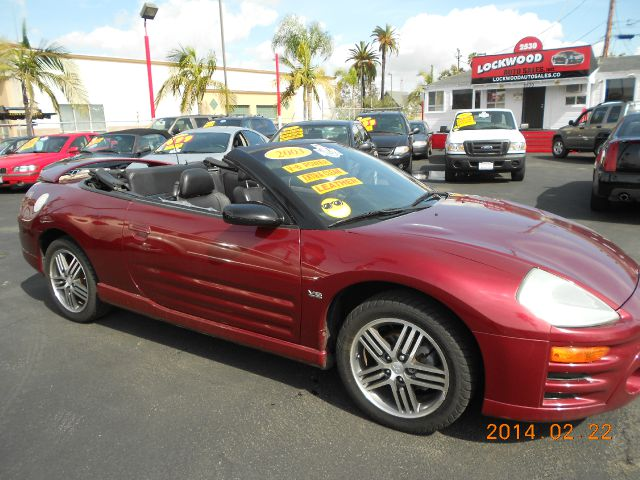2003 MITSUBISHI ECLIPSE GTS SPYDER red this one owner eclipse gts spyder is the perfect reli