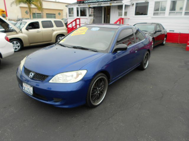 2005 HONDA CIVIC VP COUPE blue cruise in style with this very reliable eye catching 2005 honda civ