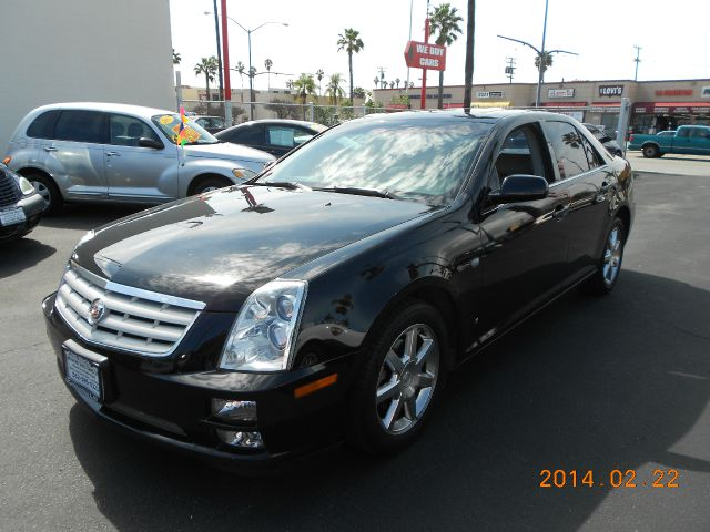 2006 CADILLAC STS V6 black abs brakesair conditioningalloy wheelsamfm radioanti-brake system