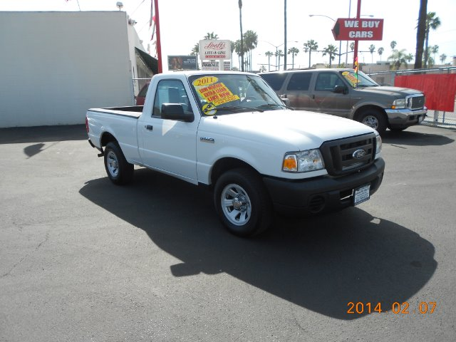 2011 FORD RANGER white one owner if you are in the market for a clean mini pick-up truck  this 2
