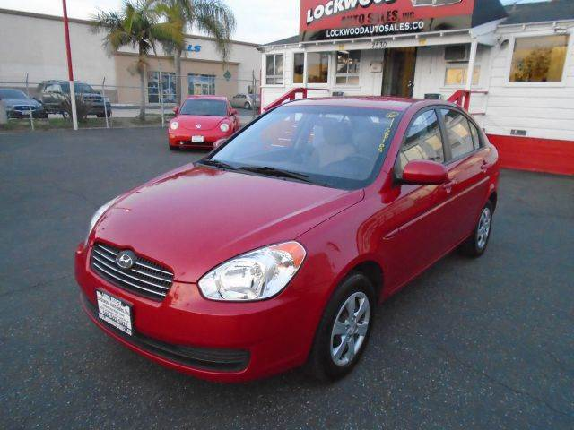 2011 HYUNDAI ACCENT GLS 4DR SEDAN 4A red only 58xxx miles on this 2011 hyundai accent that