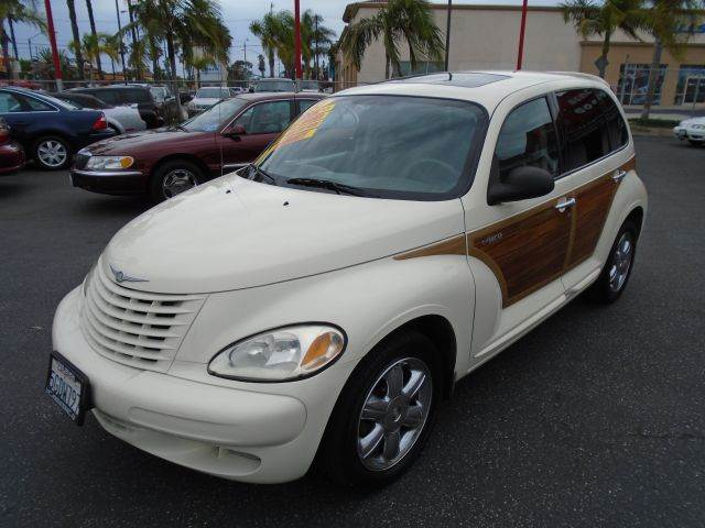 2004 CHRYSLER PT CRUISER LIMITED EDITION 4DR WAGON white this 2004 pt-cruiser woody limited editi
