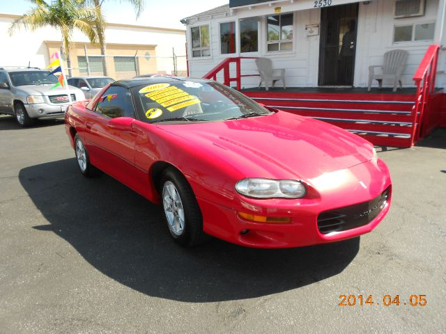 2002 CHEVROLET CAMARO COUPE red one owner just got inthis 2002 chev camero  super low original