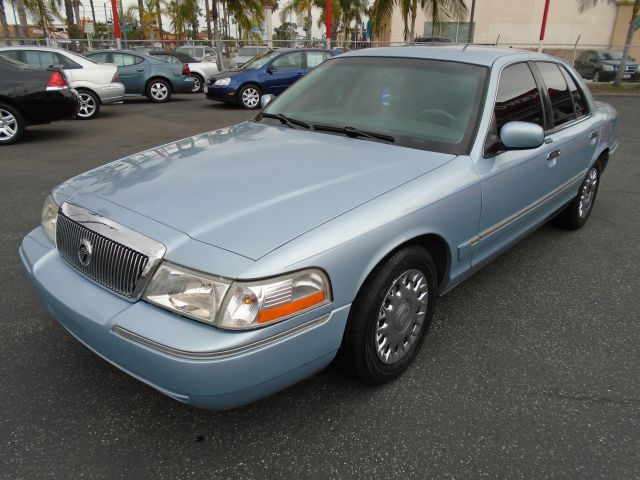 2003 MERCURY GRAND MARQUIS GS 4DR SEDAN blue this awesome sedan with  low miles only 78k miles on
