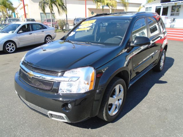 2008 CHEVROLET EQUINOX SPORT 4DR SUV black this black on black beauty is a 2008 equinox sport it