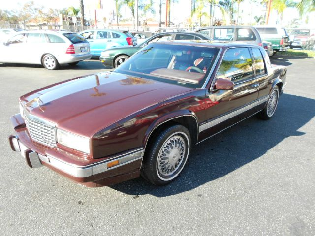 1989 CADILLAC ELDORADO BASE 2DR STD COUPE burgundy this sports luxury el dorado coupe is loaded wi