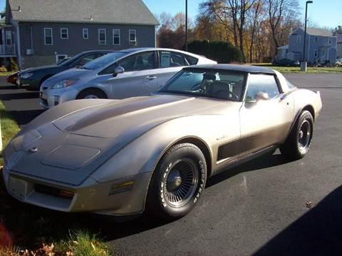 1982 Chevrolet Corvette for sale in Seekonk, MA