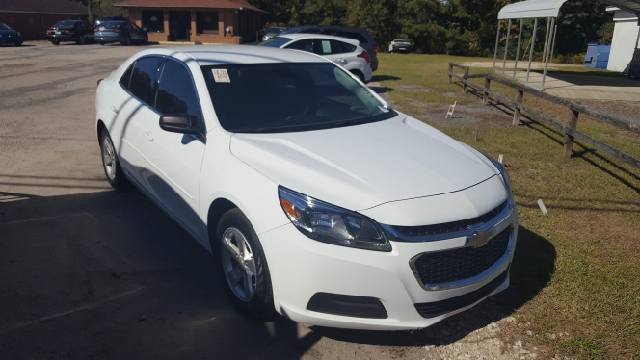 2015 CHEVROLET MALIBU LS FLEET 4DR SEDAN white 2-stage unlocking doors abs - 4-wheel active hea