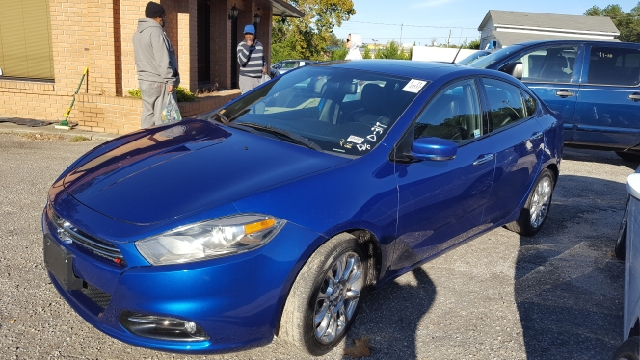 2013 DODGE DART LIMITED 4DR SEDAN unspecified 2-stage unlocking doors abs - 4-wheel active gril