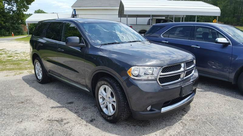 2011 DODGE DURANGO EXPRESS 4DR SUV gray 2-stage unlocking doors abs - 4-wheel active head restra