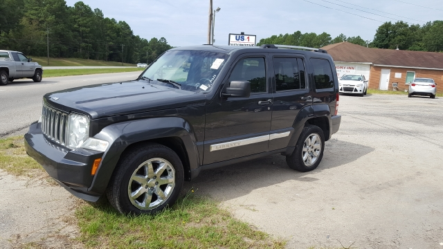 2010 JEEP LIBERTY LIMITED 4X4 4DR SUV black 2-stage unlocking doors 4wd selector - manual hi-lo