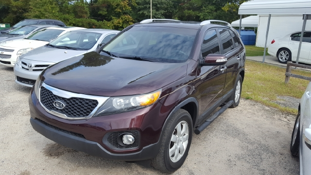 2011 KIA SORENTO LX 4DR SUV burgundy 2-stage unlocking doors abs - 4-wheel active head restrain