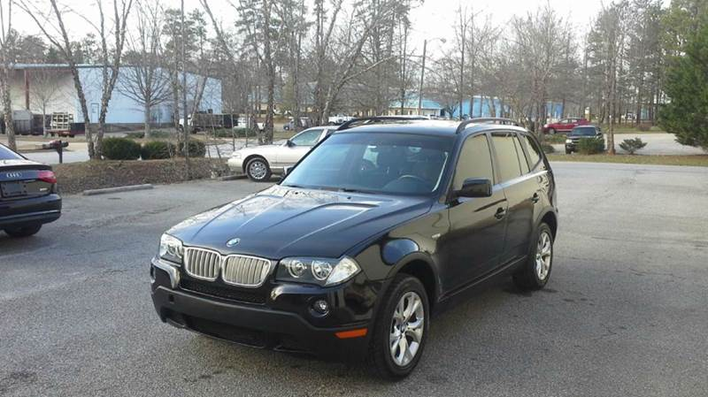 2009 BMW X3 XDRIVE30I AWD 4DR SUV black 2-stage unlocking doors 4wd type - full time abs - 4-wh