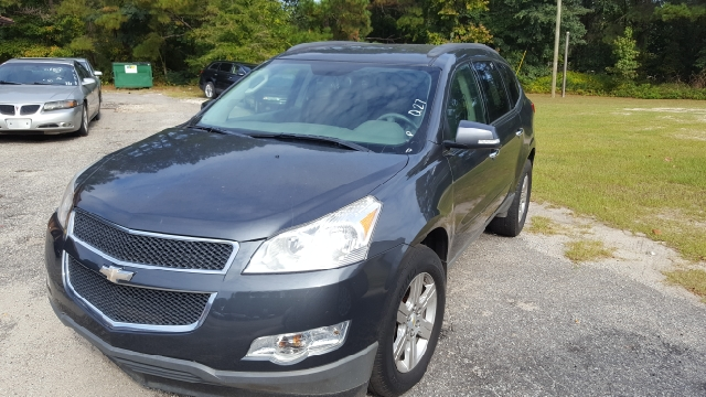 2012 CHEVROLET TRAVERSE LT 4DR SUV W 1LT unspecified abs - 4-wheel airbag deactivation - occupa