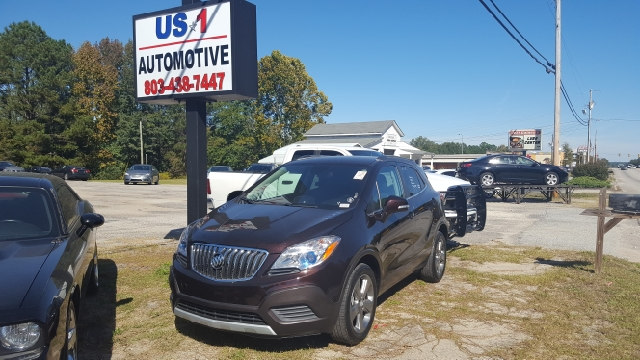 2014 BUICK ENCORE BASE 4DR CROSSOVER unspecified 2-stage unlocking doors abs - 4-wheel air filt