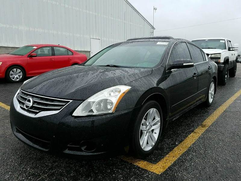 2011 NISSAN ALTIMA 35 SR 4DR SEDAN black 2-stage unlocking doors abs - 4-wheel active head res