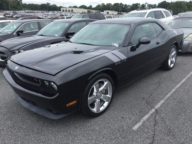2009 DODGE CHALLENGER RT 2DR COUPE black abs - 4-wheel airbag deactivation - occupant sensing p