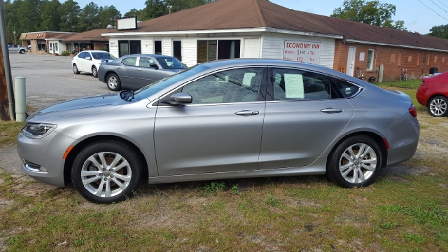 2016 CHRYSLER 200 LIMITED 4DR SEDAN unspecified 2-stage unlocking doors abs - 4-wheel active he