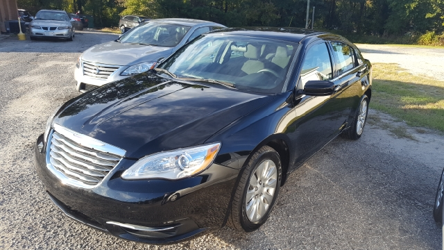 2014 CHRYSLER 200 LX 4DR SEDAN black 2-stage unlocking doors abs - 4-wheel active head restrain