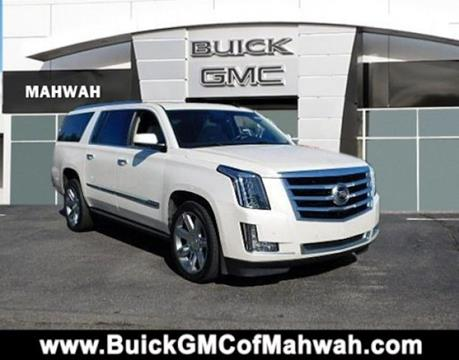 2015 Cadillac Escalade ESV for sale in Mahwah, NJ