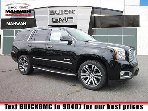 2017 GMC Yukon for sale in Mahwah NJ