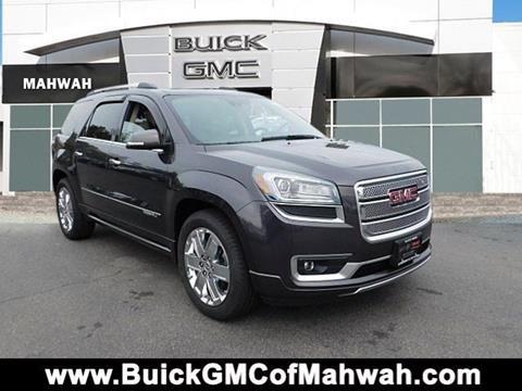 2015 GMC Acadia for sale in Mahwah NJ