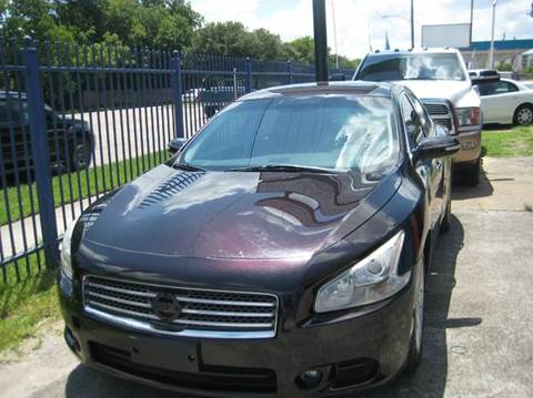 2011 Nissan Maxima for sale in Houston TX