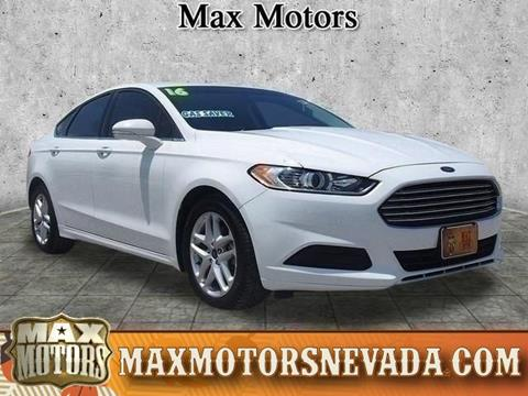 2016 Ford Fusion for sale in Nevada, MO