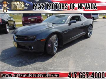 2012 Chevrolet Camaro for sale in Nevada, MO