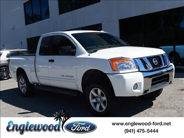2013 Nissan Titan for sale in Englewood, FL