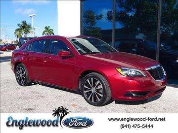 2013 Chrysler 200 for sale in Englewood, FL