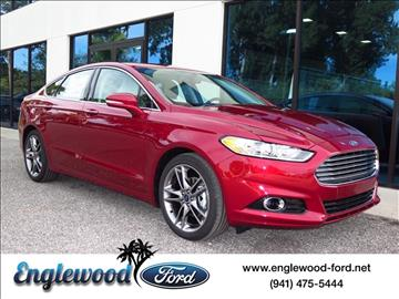 2016 Ford Fusion for sale in Englewood, FL