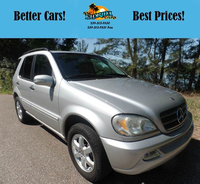 2003 Mercedes-Benz M-Class AWD ML 500 4MATIC 4dr SUV - Fort Myers FL