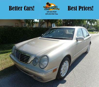 2001 Mercedes-Benz E-Class for sale in Fort Myers, FL