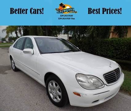 2000 Mercedes-Benz S-Class for sale in Fort Myers, FL