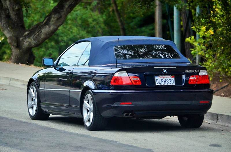 2004 Bmw 3 Series 325Ci 2dr Convertible In Belmont CA  BRAND