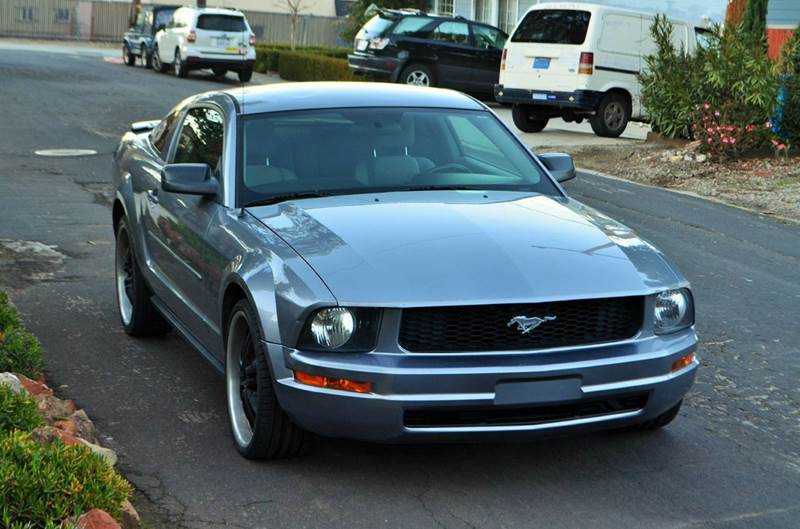 2007 ford mustang v6 deluxe 2dr coupe in belmont ca brand motors llc contact publicscrutiny Image collections