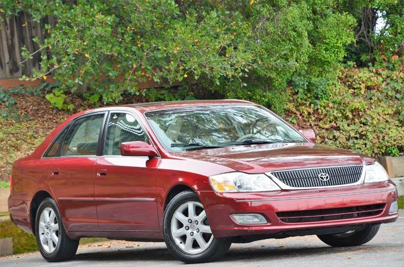 2002 Toyota Avalon XLS 4dr Sedan W/Bucket Seats   Belmont CA