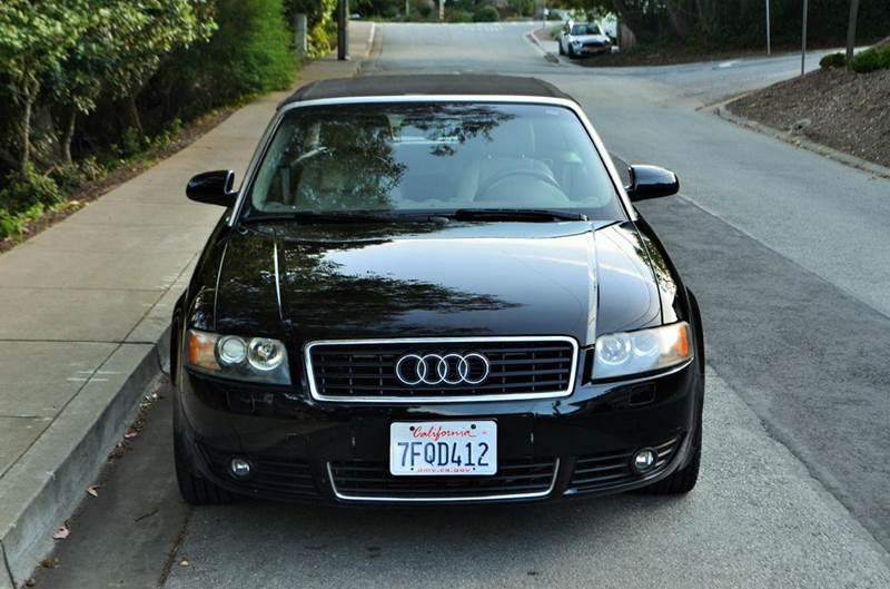 audi a4 2004. 2004 audi a4 18t 2dr turbo cabriolet belmont ca