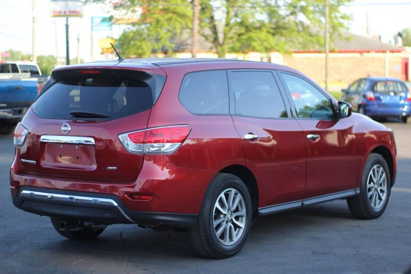 2014 Nissan Pathfinder 4x4 S 4dr SUV - Indianapolis IN