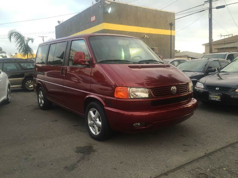 2003 volkswagen eurovan gls 3dr mini van in pomona ca. Black Bedroom Furniture Sets. Home Design Ideas