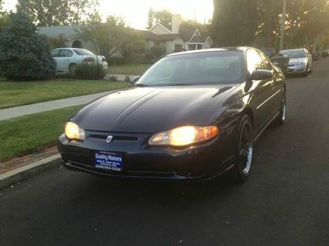 2001 Chevrolet Monte Carlo for sale in South Gate, CA